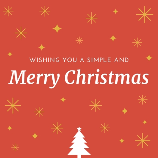 Wishing You A Simple
